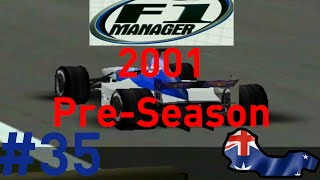 F1 Manager: Minardi Manager Career - Part 35 - 2001 Pre-Season