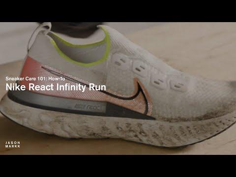 HOW-TO CLEAN NIKE REACT INFINITY RUN