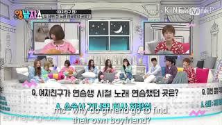 BTS X GFRIEND - YANG NAM SHOW [fake sub]