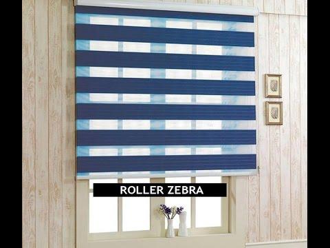 Cortinas roller duo cortinas roller zebra cortinas for Persianas de color de moda