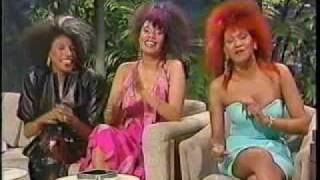 The Pointer Sisters - Promoting Contact album (2)