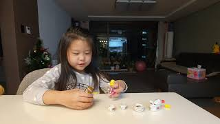장난감과유리접시
