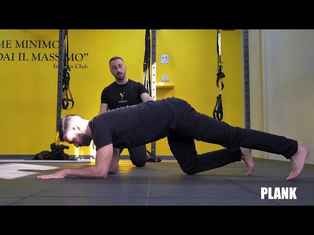 Plank. Esecuzione e tecnica.