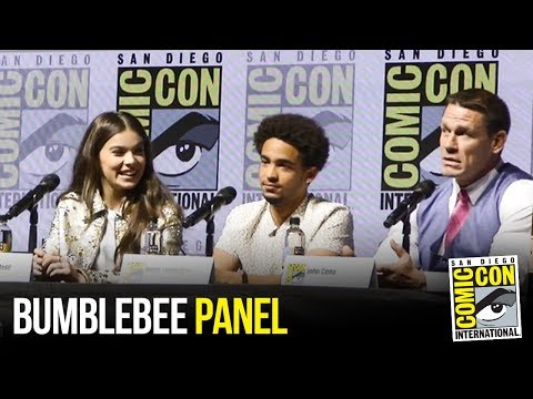 Bumblebee (2018) FULL Panel at San Diego Comic Con 2018