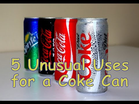 Thumbnail: 5 Unusual Uses for a Coke Can