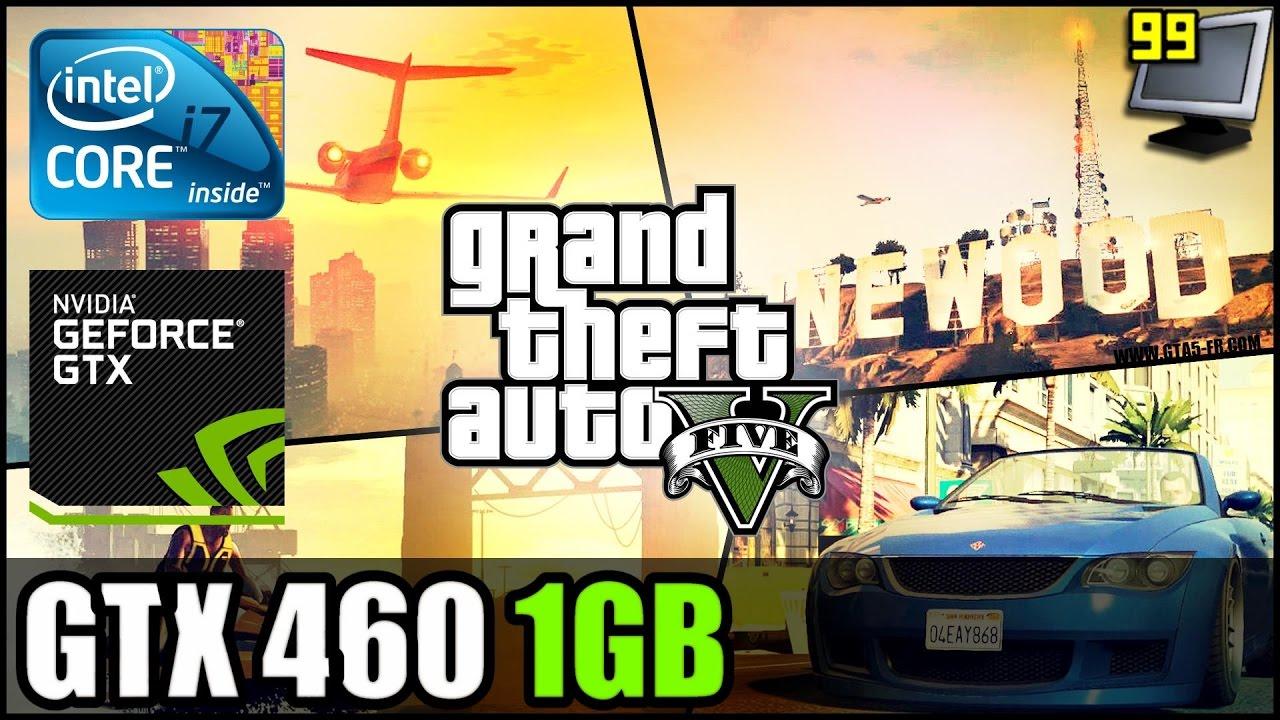 GTA V/5 - GTX 460 1GB - i7 920 - 1080p Test