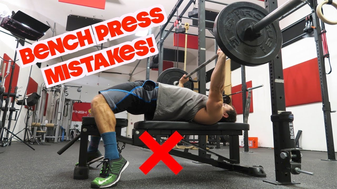 Top 5 Bench Press MISTAKES! - YouTube