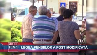 LEGEA PENSIILOR A FOST MODIFICATA - 05 IULIE 2018