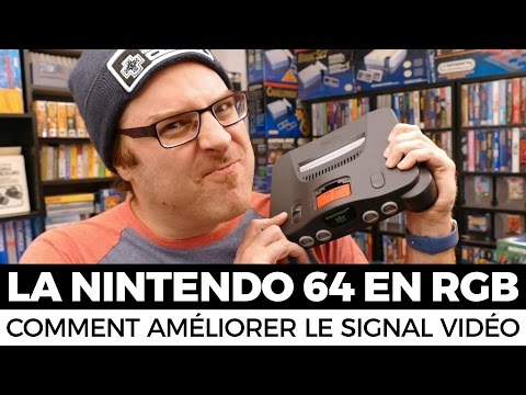 Modifier la Nintendo 64 pour un signal RGB : CRÉER VOTRE AMPLIFICATEUR D'IMAGE
