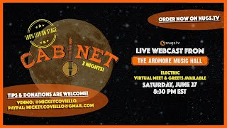 Cabinet Live from Ardmore Music Hall, 6/27/20