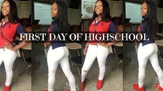 GRWM: LAST FIRST DAY Of Highschool VLOG