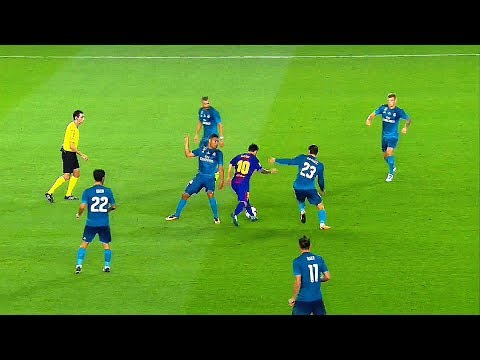 16 Cheeky & Ridiculously Entertaining Things Lionel Messi Did in 2018 Season HD