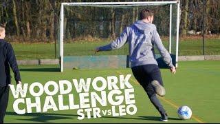WOODWORK CHALLENGE Leo vs STRskillSchool - Day 25 of 90