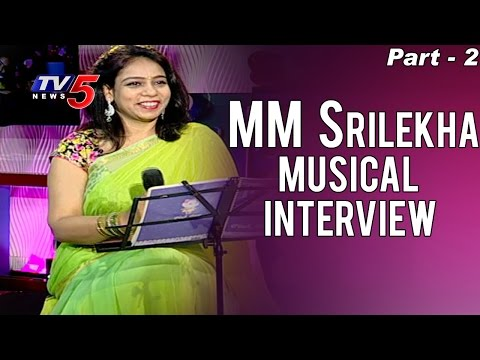 MM Srilekha Musical Interview | Valentines Day Special | Part - 2 | TV5 News
