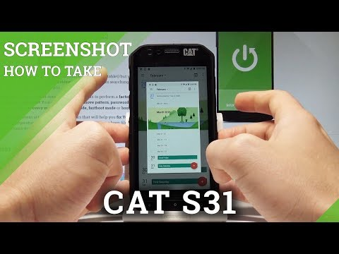 How To Take Screenshot In CAT S31 - Capture Screen |HardReset.info
