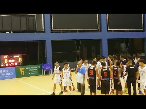 Cyberjaya Internationql Youth Basketball Tournament D1G1