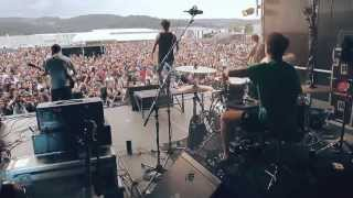 Dawn Of The Maya - Heavenly Fire (DRUM CAM live at Resurrection Fest 2013)