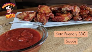 Keto Friendly BBQ Sauce   Low Carb Chicken Wing Recipe