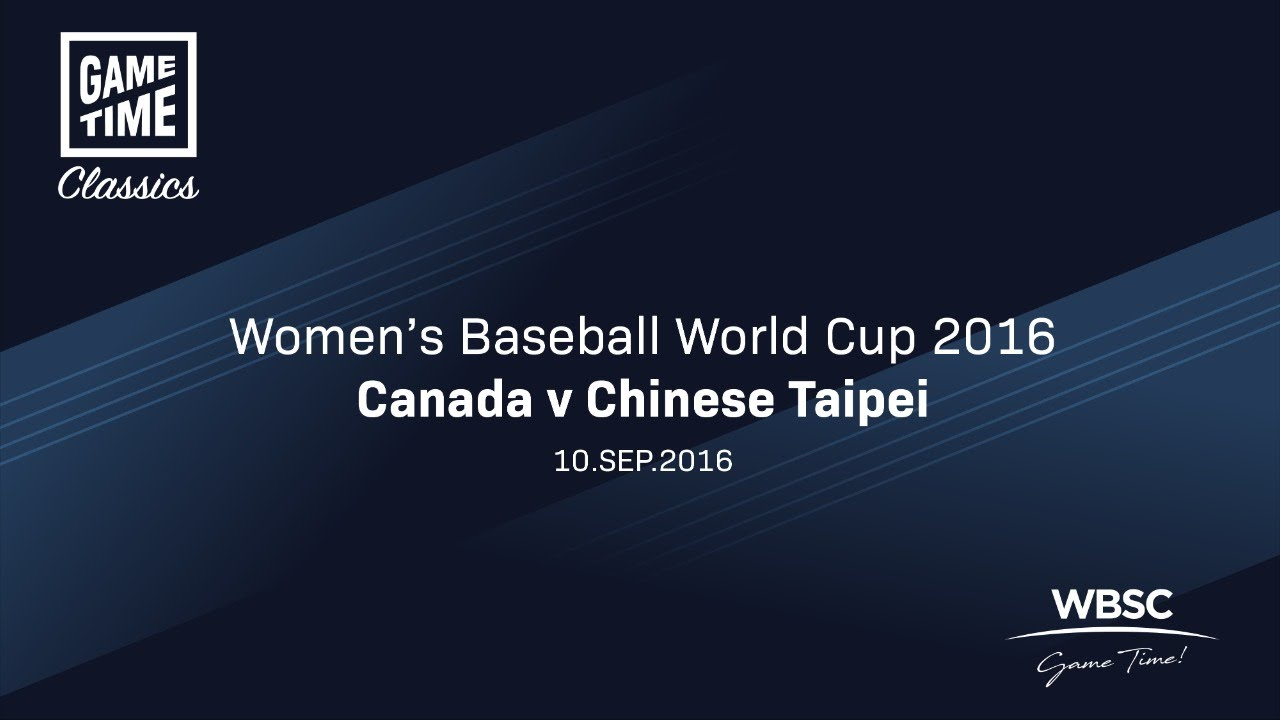 Canada v Chinese Taipei - Women's Baseball World Cup 2016