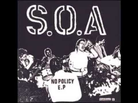 S.O.A - NO POLICY  FULL EP 1981