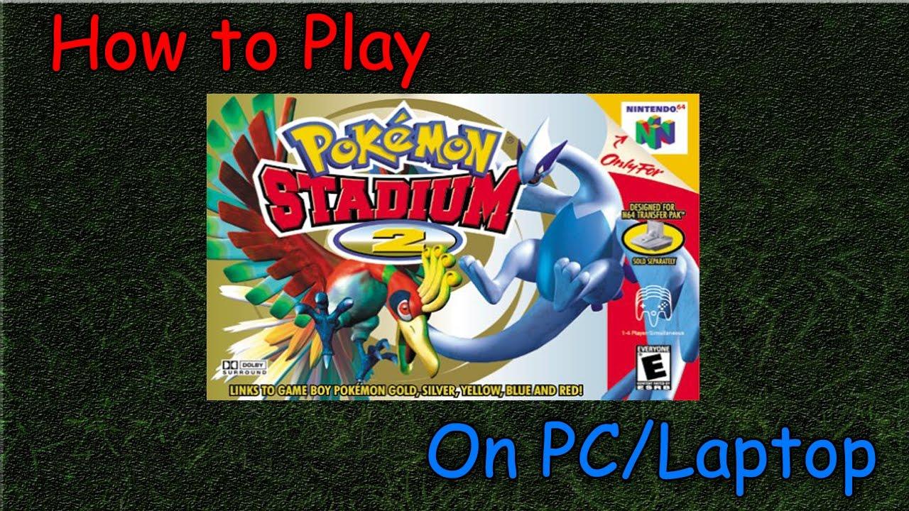 play pokemon stadium 2 online mac