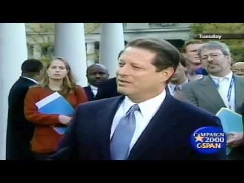 Al Gore Contests 2000 Presidential Election Results