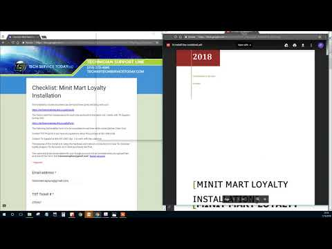 TA Minit Mart Loyalty Photos Submission Form and Install Guide