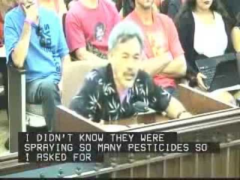 Dr Lorrin Pang testifies at Kauai County Council 10.8.13