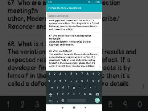 Testing Interview Questions – Apps bei Google Play