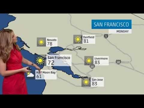 San Francisco's Weather Forecast for April 14, 2014