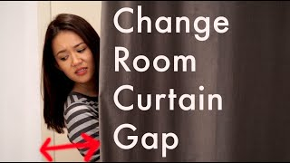 The Change Room Curtain Gap
