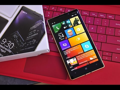 This is the special gold Lumia 930