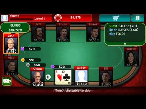 Texas Hold'Em Poker 3 Mobile Java Games