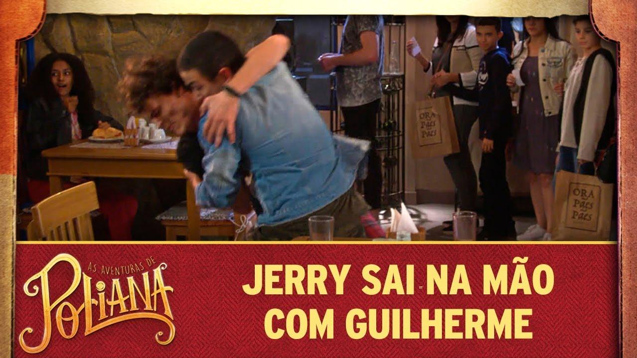 Jerry sai na mão com Guilherme | As Aventuras de Poliana