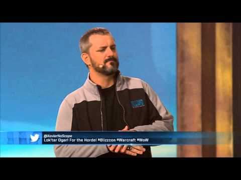 BlizzCon 2013 - Chris Metzen Introduces Warlords of Draenor
