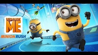 Despicable me Minion Rush walktrough, First look first levels  Games for kids in english