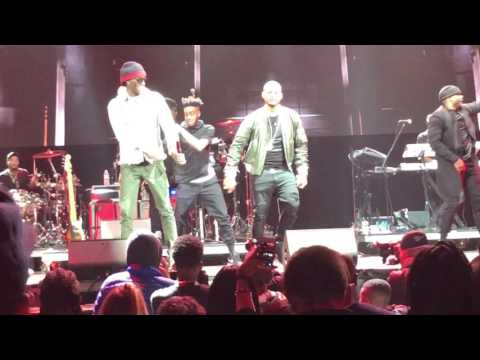 "Usher Brings Out Young Thug At Hot 97 ""hot For The Holidays"" Concert."