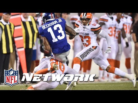 Was the Hit on Odell Beckham Jr. Dirty? | DDFP | NFL Network