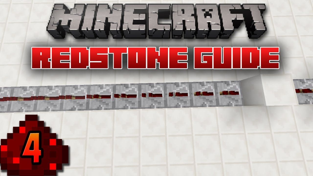 Minecraft Redstone Guide 4 Timing Ticks Youtube Wiring For Dummies