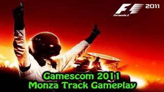 F1 2011 - Gamescom 2011 - Monza Track Gameplay