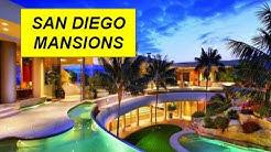 San Diego mansions and million dollar listings for sale
