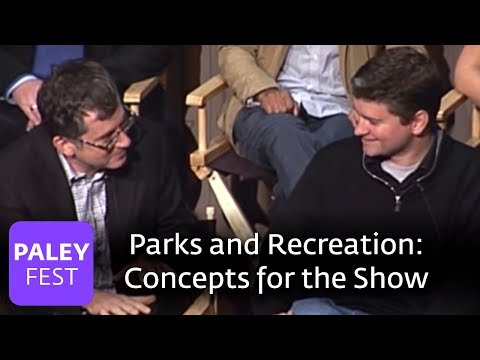 Parks & Recreation  Greg Daniels & Michael Schur on the Concept Paley Center, 2009