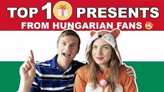 Top 10 AMAZING presents from Hungarian fans ???????? Speaking Hungarian