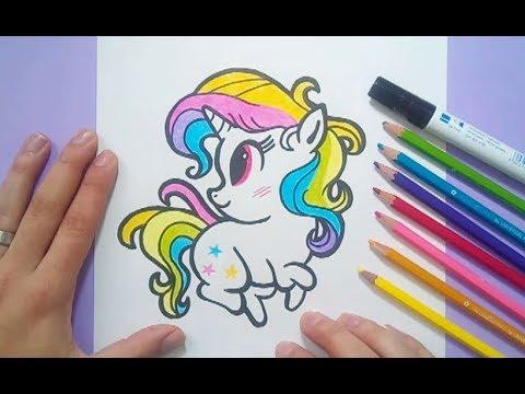 Como dibujar un unicornio paso a paso 7 | How to draw a ...