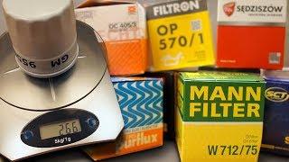 Test Filtrów oleju - Waga #1