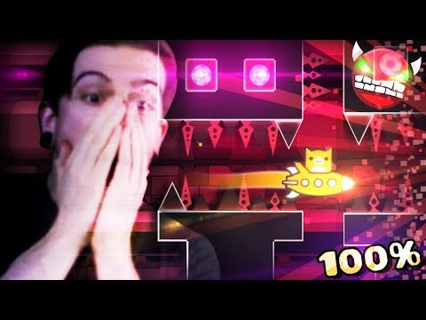 IT FINALLY HAPPENED!! (MY FIRST DEMON) || Geometry Dash (Part 14) CLUBSTEP COMPLETE!!