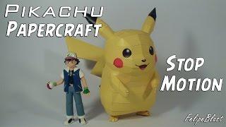 Pikachu Papercraft | STOPMOTION | La venganza de los Pikachu's por FelipeBlast