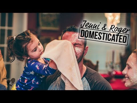 SLUMBER PARTY WITH THE MATHEWS | Jenni & Roger: Domesticated | Awestruck
