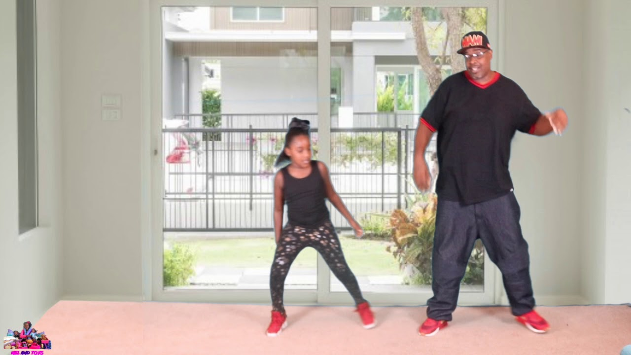 DADDY AND DAUGHTER GIT UP CHALLENGE (2 Step Cowboy Boogie)