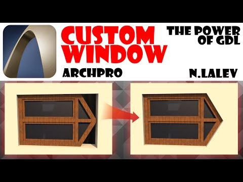 [Archicad] Custom windows!